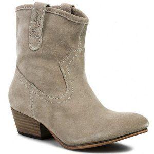 Pepe Jeans dámské béžové boty Chestfield
