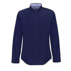 Tommy Hilfiger pánská modrá košile Damian