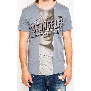 Guess pánské šedé tričko