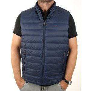 Tommy Hilfiger pánská modrá vesta American
