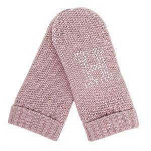 Tommy Hilfiger dámská růžové rukavice Sparkle