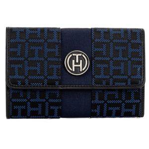Tommy Hilfiger dámská černo-modrá peněženka Elisabetta
