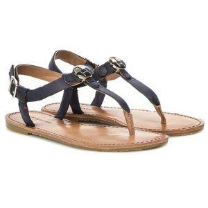 Tommy Hilfiger dámské černé sandály Julia
