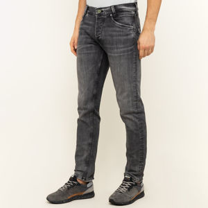 Pepe Jeans pánské tmavě šedé džíny Spike - 34 (0)
