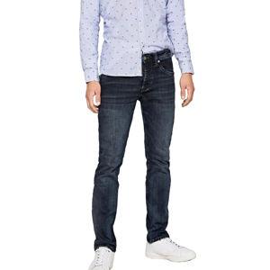 Pepe Jeans pánské tmavě modré džíny Cash - 34/32 (0E9)
