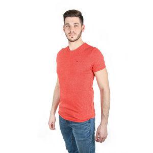 8fb6a6b205 Tommy Hilfiger pánské červené tričko Essential
